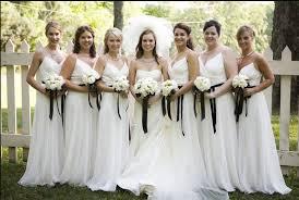 wedding bridesmaid dresses white bridesmaid dresses elite wedding looks