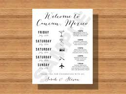 destination wedding itinerary destination wedding weekend itinerary wedding schedule of