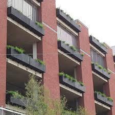tournesol wall mounted outdoor planter fiberglass window box
