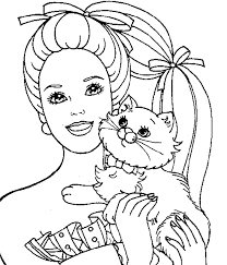 kidscolouringpages orgprint u0026 download coloring pages barbie
