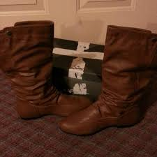 womens xappeal boots 40 xappeal boots xappeal dominique brown boots reduced