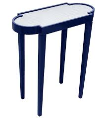 Blue Accent Table with Aster Blue Accent Table Target Navy Side Outdoor Ceramic