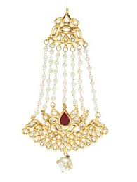 stylish gold earrings traditional pink tone kundan jhumka earrings ekatrra gold