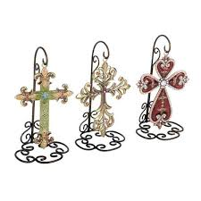 Cross Wall Decor by Assorted Metal Cross Wall Decor Set Of 3 Free Shipping Today