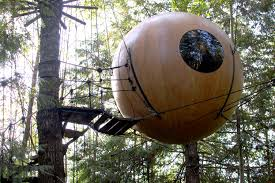 sphere tree house plans house interior