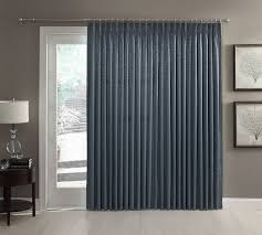 ultimate blackout patio door curtain panel with detachable wand
