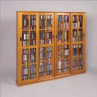 Multimedia Storage Cabinet With Doors Dame Glass 4 Door Multimedia Storage Cabinet