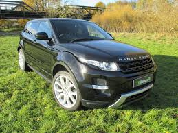 metallic land rover used land rover range rover evoque black for sale motors co uk