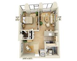 floor plans and pricing for 10 hanover square apartments lower one bedroom w home office f