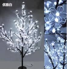 artificial trees with led lights lightings and ls ideas