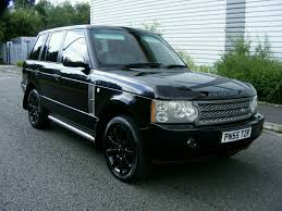 2005 rover range rover 4 2 supercharged auto met java black auto