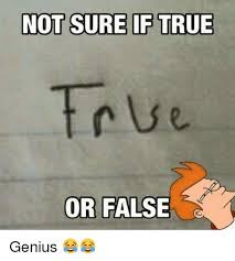 Genious Meme - not sure if true or false 1 genius meme on me me