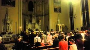 vigil lights catholic church emmanuel catholic church easter vigil fire and candle lighting