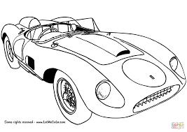 ferrari drawing 1957 ferrari 625 trc spyder coloring page free printable