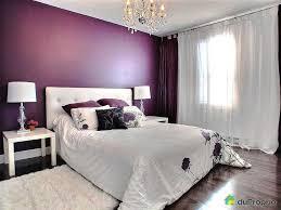 chambre lilas et gris chambre mauve et blanc