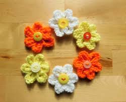 marianna u0027s lazy daisy days knitted summer flowers