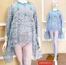 model baju kebaya muslim trend baju brokat kebaya muslim ala masa kini fashion