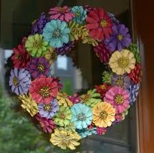 pine cone wreath pine cone flower wreath crafts pine cone flower