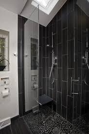shower ideas for small bathrooms bathroom extraordinary small bathroom design with black tile