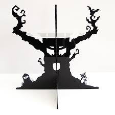 Halloween Cake Stands The Haunted Tree Cake Stand Sandra Dillon Design