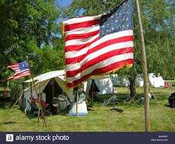 Civil War Union Flags Union Flag U0026 Military Style Tents Lined Up At A U S Civil War