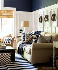 My Living Room My Home Tour My Living Room In Navy And Gold Small Rooms Color