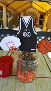 basketball centerpieces 16 best birthday party ideas images on birthday party