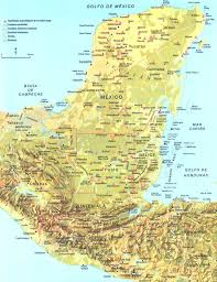 mayan empire map map though ruins in san mateo ixtatan are missing http