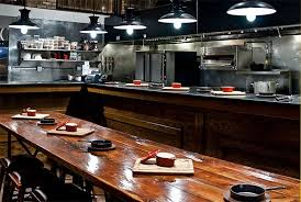 Kitchen Chef Table by Chefs Table Dining In Chicago Stylechicago Com