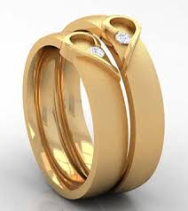 15 matching pair gold rings designs in india