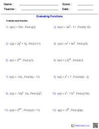 analyzing and solving polynomial equations worksheets math aids
