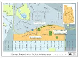 Minneapolis Neighborhood Map Public Greenspace Stevens Square Community Organization U2013 Life