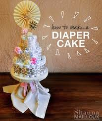 10 baby shower diaper cakes