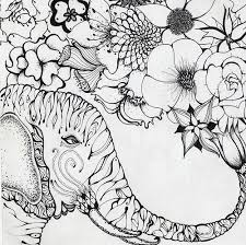 198 elephant colouring pages images coloring