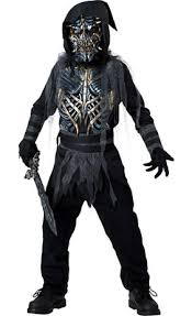 deluxe grim reaper costume for boys party city