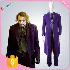 men halloween costumes winter jacket the dark knight joker funny