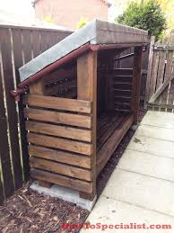 diy wood shed howtospecialist how to build step by step diy