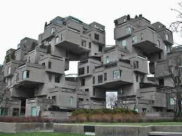 Canadian Houses Habitat 67 Or Simply Habitat Is A Model Community And Housing