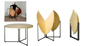 dining table solid wood folding dining table smart furniture for