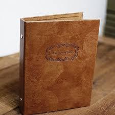 where to buy wedding albums saibang retro leather diy photo album notebook 3 rings wedding