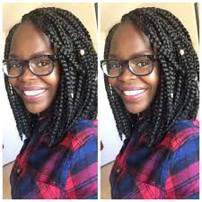 how many packs of hair for box braids crocheted traditional box braids bob youtube