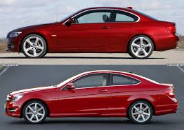 2011 vs 2012 bmw 328i photo comparison 2011 bmw 3 series coupe vs 2012 mercedes c