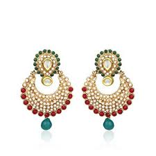 earrings for gold earrings for women in india luxury green gold earrings for