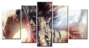 American Indian Decorations Home Wall Art Designs Native American Wall Art Figure Series Home