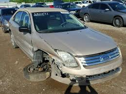 2007 ford fusion s 2007 ford fusion s for sale ky louisville salvage cars