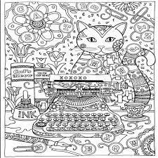 aliexpress buy creative haven creative cats colouring book