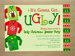 christmas party invitations sweater christmas party invitations reduxsquad