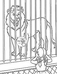 zoo animal coloring pages zebra coloringstar printable for kids