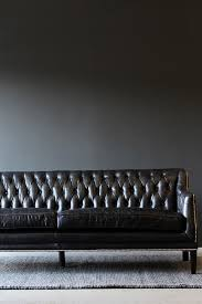 Black Leather Chesterfield Sofa Black Leather Chesterfield Sofa From Rockett St George