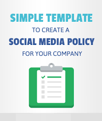 social media policy template free hirerabbit social recruiting